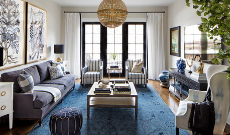 Houzz Tour: Heirlooms Meet Industrial Style in a Row House