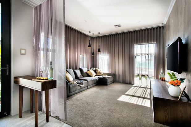 Современный Семейная комната by Dale Alcock Homes