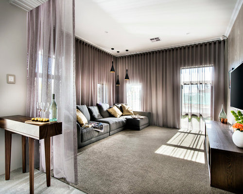 Floor To Ceiling Curtains Houzz