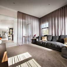 Contemporary Family Room by Dale Alcock Homes