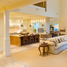 Contemporary Family Room by Pahlisch Homes, Inc.