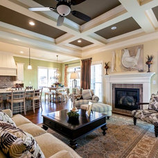 Traditional Living Room by Prestige Builders Inc.