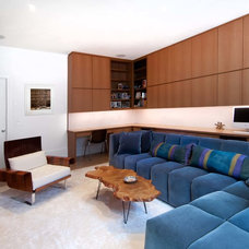 Contemporary Family Room by A2 Architect, PC