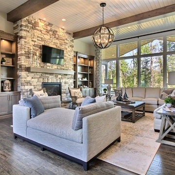 The Great Room : The Cadence : 2018 Parade of Homes