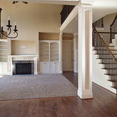 Traditional Family Room by Collins Design-Build, Inc.