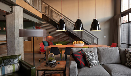 14 Ways to Fit Industrial Lights in All Types of Decor