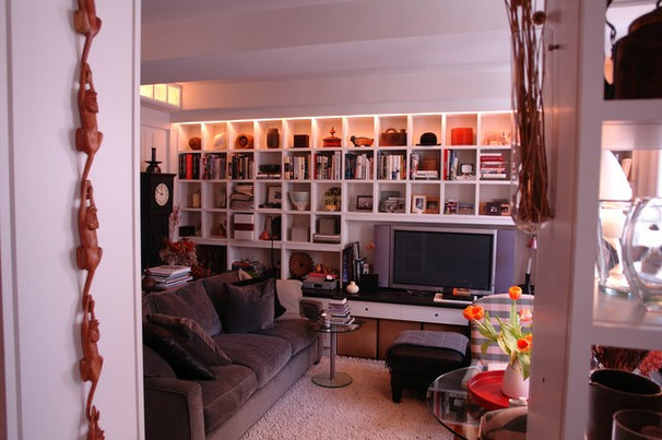 Eclectic Family Room by CustomMade.com