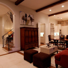 Traditional Family Room by Parker Stuckey Residential Design