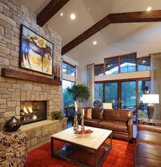 contemporary family room by COMITO BUILDING AND DESIGN LLC