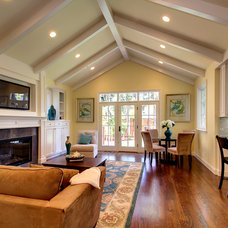 Traditional Family Room by The Douglass Company