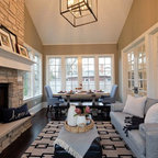 City Park Avenue New Orleans Transitional Family Room
