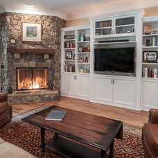 Traditional Family Room by KDH Residential Designs