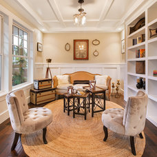 Traditional Family Room by Axiom Luxury Homes