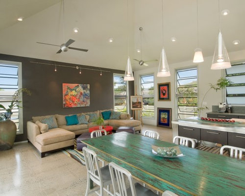 Painted Dining Tables | Houzz