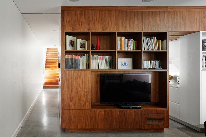 Contemporary Family Room by elaine richardson architect