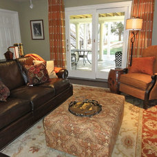 Traditional Family Room by Terra Maria Home Interiors