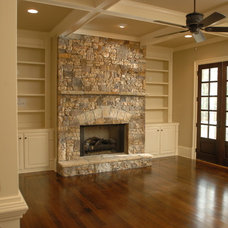 Rustic Family Room by Hask Custom Homes