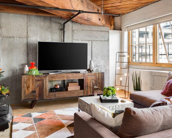 Industrial Living Room Furniture N On Innovation Design