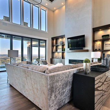 The River's Point : 2019 Clark County Parade of Homes : Two-Story Great Room