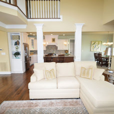 Traditional Family Room by Jimmy Nash Homes
