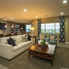 Family Room by Meritage Homes