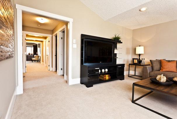 Asian Family Room by Marcson Homes Ltd.