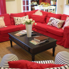 Eclectic Family Room The Style Sisters