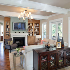 Traditional Family Room by Amerisips