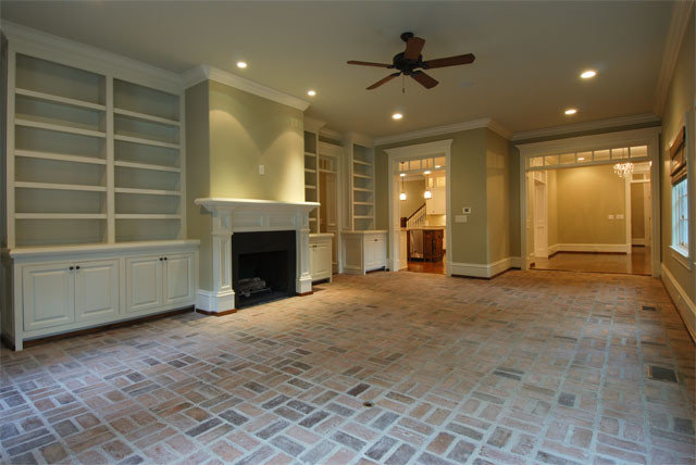 Traditional Family Room by Deer Creek Homes, Inc.