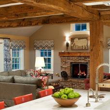 Contemporary Family Room by Terrat Elms Interior Design
