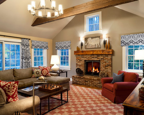 This old house bedford for Living room ideas for older homes