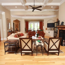 Traditional Family Room by Design Elite
