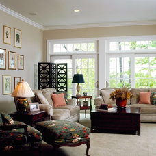 Traditional Family Room by Sears Architects