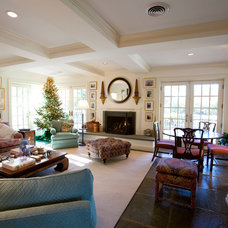 Traditional Family Room by Berg Building + Design