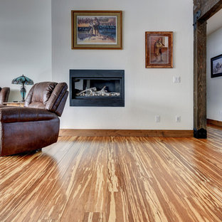 Tiger Wide Plank Strand Bamboo Flooring