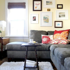 Contemporary Family Room Tips for Entertaining in a Small Space