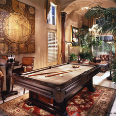 traditional family room by Todd Peddicord Designs