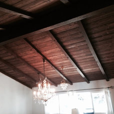 Rustic Family Room by Panczak Construction