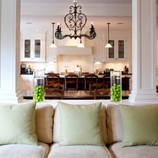 Traditional Family Room by Heintzman Sanborn Architecture~Interior Design