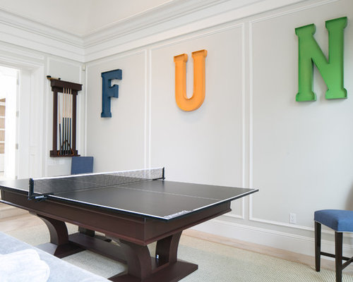 Inspiration For A Timeless Game Room Remodel In Orange County