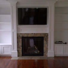 Traditional Family Room by Halifax Tile Company