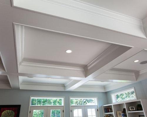 Box beam houzz for Box beam ceiling