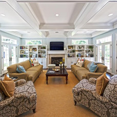 Traditional Family Room by Hibbs Homes, LLC