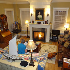 Traditional Family Room by Southgate Designs