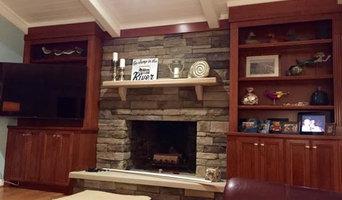 Traditional Cherry Wood Family Room | Virginia Beach, VA