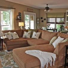 traditional family room by Simplicity Interiors