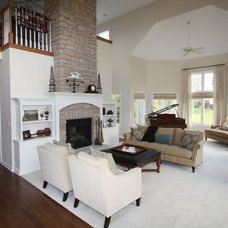 Traditional Family Room by Architectural Justice