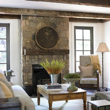 Traditional Family Room by Bradley E Heppner Architecture, LLC