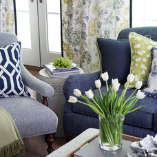Traditional Family Room by Calico