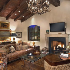 Traditional Family Room by Carson Poetzl, Inc.
